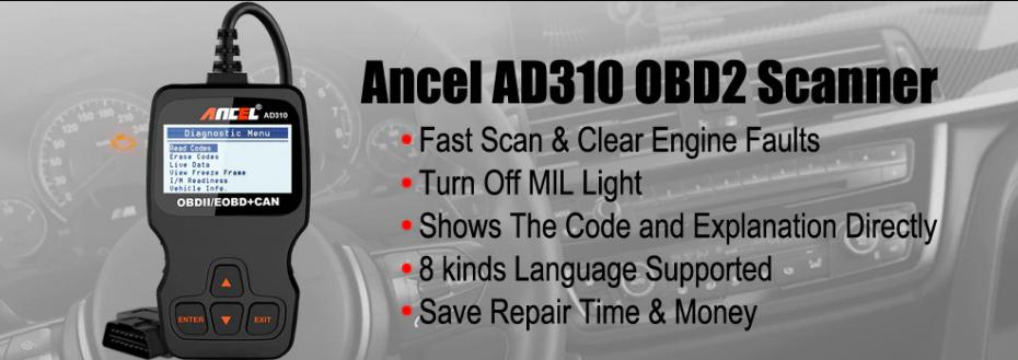 ANCEL AD310