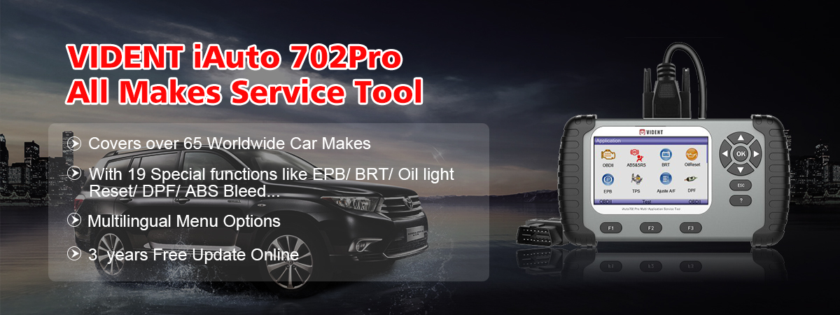 Vident iAuto Full System All Make OBD Scan Tool