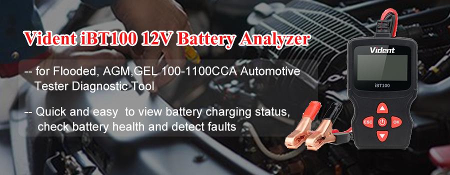 Vidnet iBT100 Battery Analyzer