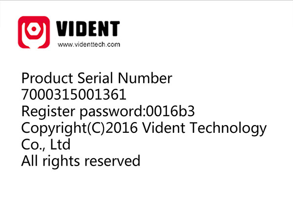 vident iauto700 register update language faqs 4